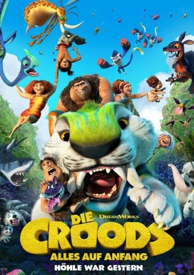 Plakat: Die Croods 2 - Alles auf Anfang