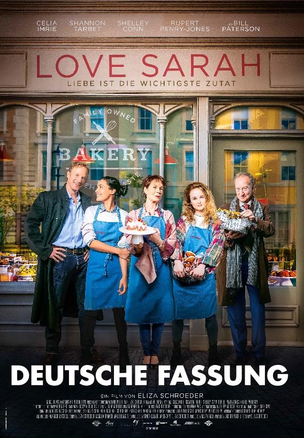 Plakat: Love Sarah - Deutsche Fassung