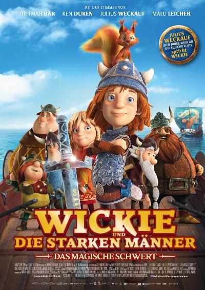 Plakat: Wickie und das magische Schwert